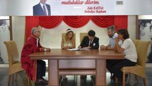 Başkan Kayda, şehit kızının nikahını kıydı
