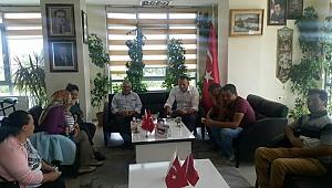 Minik Elif Nil İlk Ziyaretini Başkan Mergen'e Yaptı