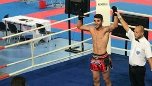 Manisalı kick boksçu Avrupa Şampiyonu