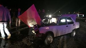 Köprübaşı'nda görülmemiş kaza; 2 Ölü 3 Yaralı