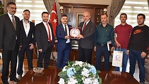 Vali Güvençer, Cansuyu Derneği İl Temsilcisi Fatih Akova Ve Yönetimini Kabul Etti