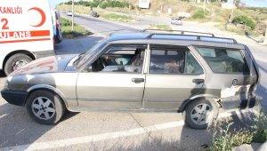 Kula'da kaza: 1 yaralı
