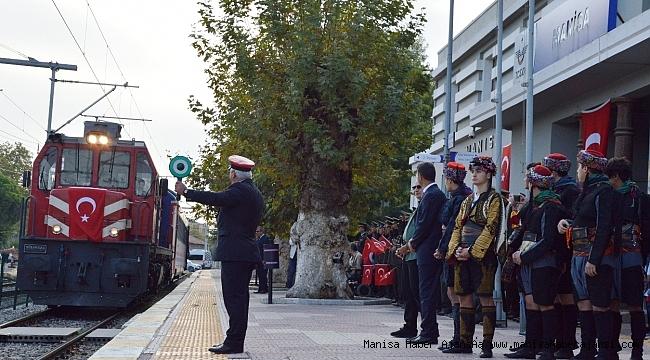 Atatürk'ün Manisa'ya gelişinin 93.yıldönümü coşkuyla kutlandı