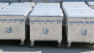 Saruhanlı'da Çöp Konteynırları Düzenli Olarak Yıkanacak