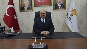 AK Parti İl Başkanı Mersinli'den Mevlid Kandili Mesajı