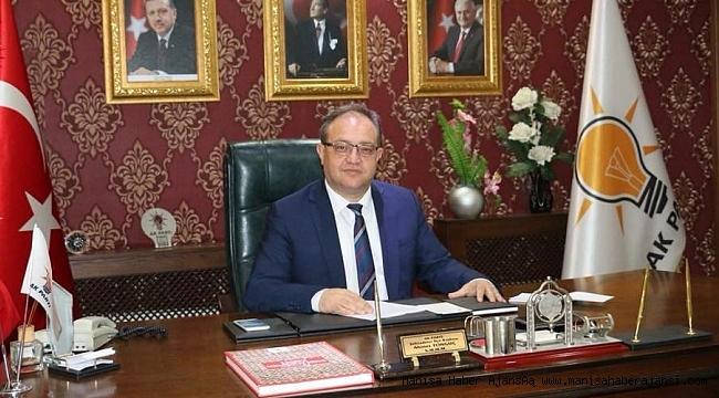 Ak Parti Şehzadeler İlçe Başkanı İstifa Etti
