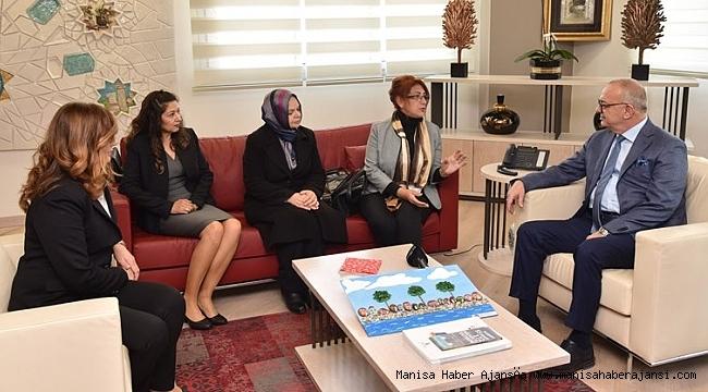 Otizm Gençlik ve Spor Kulübü'nden Başkan Ergün'e Ziyaret