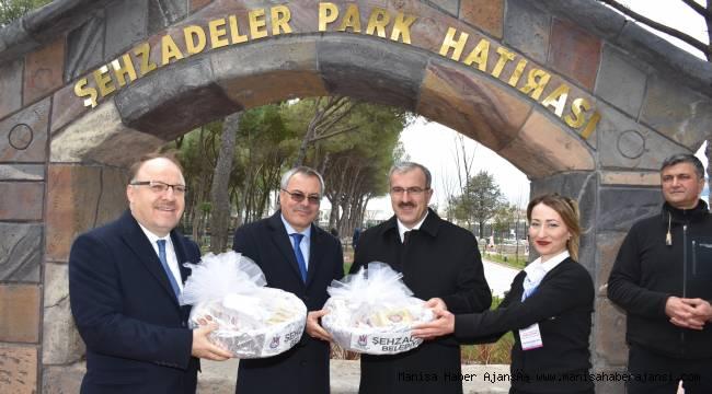 Afyon ve Kütahya Valisinden Şehzadeler Park'a tam not