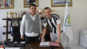 Büyükşehir Belediyespor, Sinan Kurumuş'la Sözleşme İmzaladı