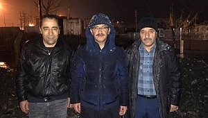 Şehzadeler Belediyesi Sabaha Kadar Çalışmalarını Sürdürdü