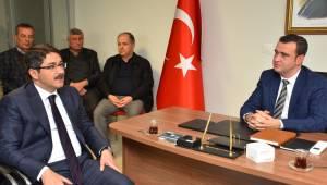 Başkan Çelik'ten Muhtarlara Ziyaret