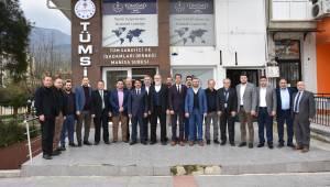 Başkan Çelik'ten TÜMSİAD'a Ziyaret