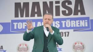 Başkan Erdoğan bugün Manisalılarla buluşacak