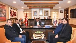 BBP'den Başkan Çelik'e ziyaret