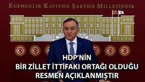 HDP'nin Bir Zillet İttifakı Ortağı Olduğu Resmen Açıklanmıştır