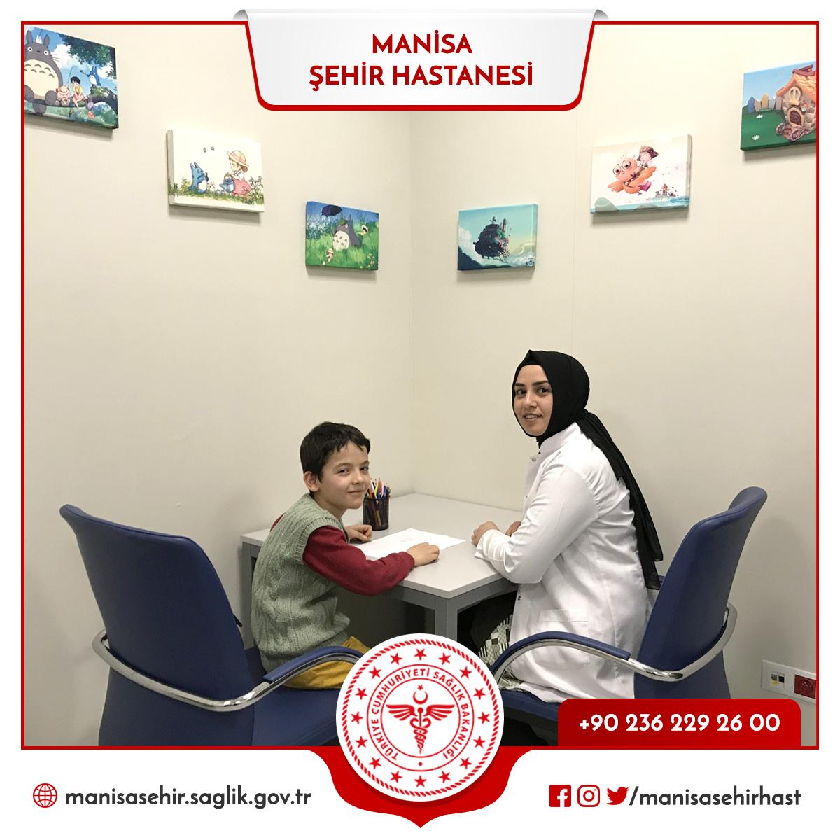 Şehir Hastanesi'nde Çocuk Gelişimci hizmet veriyor