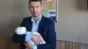 Adem Şahin ikinci kez baba oldu