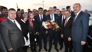 Alaşehir'de Cumhur'un Adaylarına Sıcak Karşılama