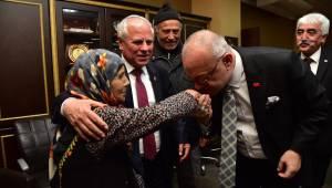 Başkan Ergün Soma'da