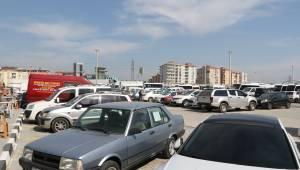 Eski Garaj'da Araç Parklanması Başladı