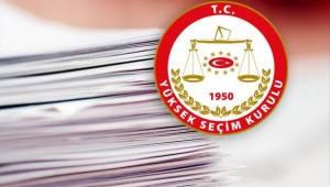 İzmir'in Kesin aday listeleri ilan ediliyor