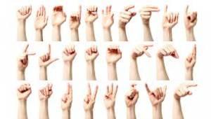 Sarıgöl'de hastane personeli işaret dili öğrendi