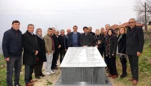 Sarıgöl'de şehitler için anıt mezar