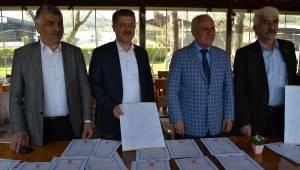 Soma OSB'nin 62 tapusu alındı