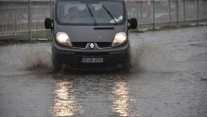 Turgutlu'da kuvvetli yağmur