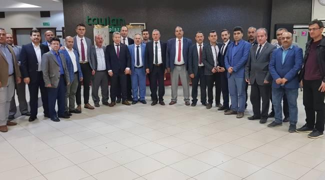 """Türk Büro-Sen Genel Başkanı Eksert, """"Bizim sevdamız Türkiye"""""""