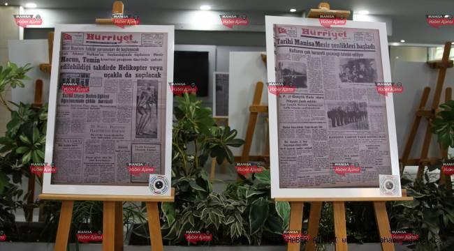 70 yıllık gazete arşivi Manisalılarla buluştu