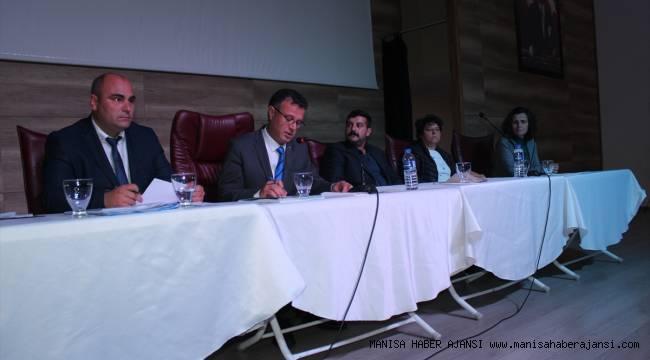 Alaşehir'de ilk belediye meclisi toplandı
