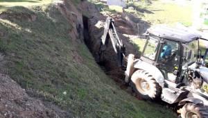 Barbaros Mahallesi'ndeki Terfi Hattı Deplase Edildi