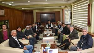 Başkan Çerçi'ye Tebrik Ziyaretleri