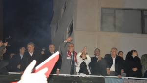 Cengiz Ergün 3. seçim zaferini kutladı