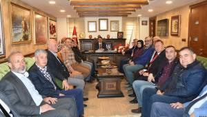 Kurucu Meclis'ten Başkan Çelik'e Tebrik Ziyareti