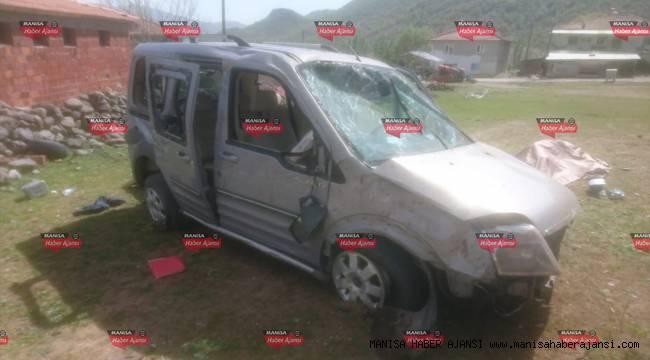 Manisa'da trafik kazaları: 2 ölü, 5 yaralı
