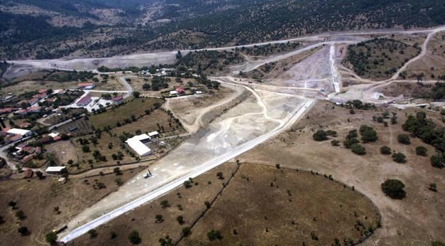 Sarma Barajı'nın yüzde 52'si tamamlandı