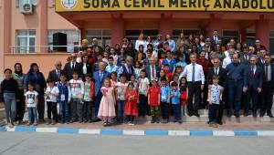 Soma maden şehitlerinin çocuklarına 4 milyon liralık burs desteği