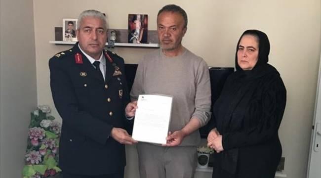 Tuğgeneral Can'dan şehit ailesine ziyaret