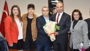 Turgutlu Belediyesi'nde devir teslim töreni