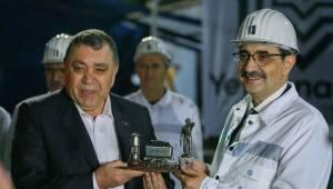 Bakan Dönmez, kömürden akaryakıt üreten tesisi ziyaret etti