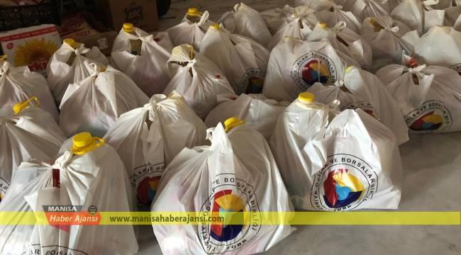 Demirci'de ihtiyaç sahibi 667 aileye yardım