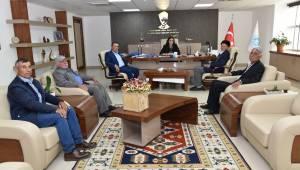 Kore Gazisinden Genel Müdür Başaran'a Ziyaret