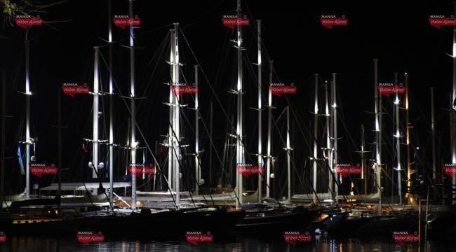 Lüks tekneler Bodrum'da görücüye çıktı
