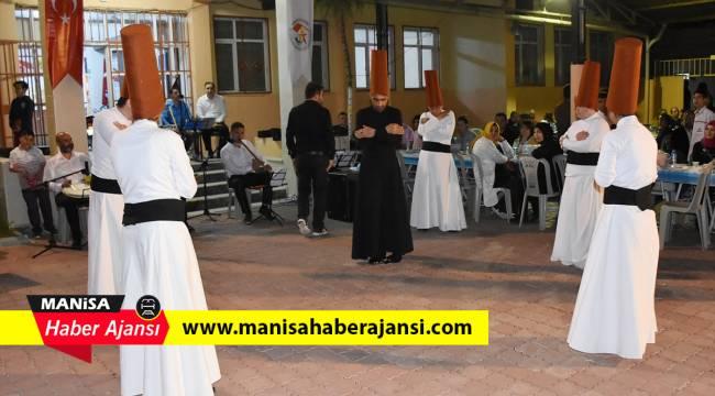 Manisa'da engelli semazenlerden ramazan gösterimi