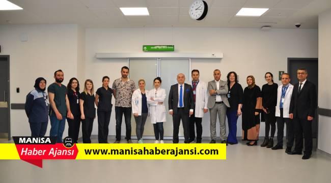 Manisa Şehir Hastanesi yoğun bakımda yatak sayısını artırdı