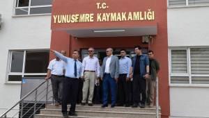 Yunusemre'de kamu kurumları tek çatı altında toplanacak