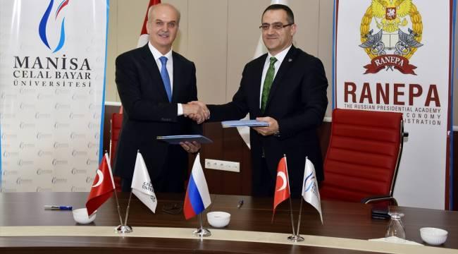 Manisa Celal Bayar Üniversitesi ile Rusya arasında iş birliği