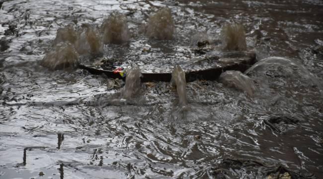 Turgutlu'da şiddetli yağış